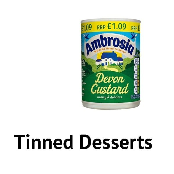 Tinned Desserts