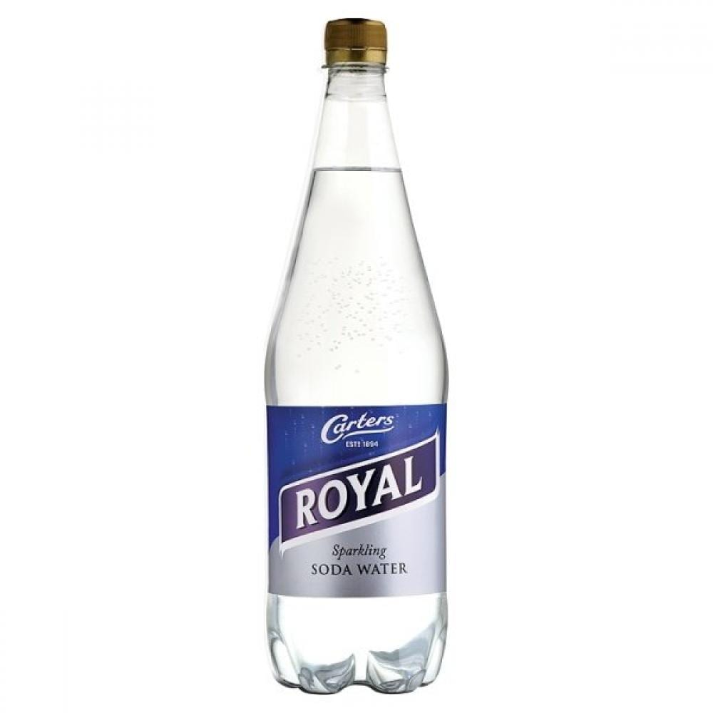 Carters Royal Sparkling Soda Water