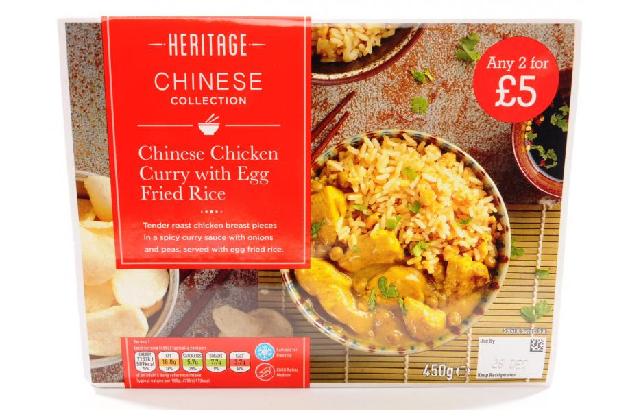 Heritage Chinese Chicken Curry And Rice