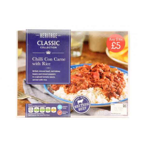 Heritage Chilli Con Carne with Rice