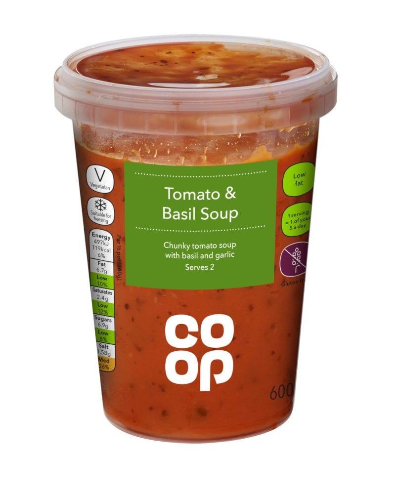 Coop Tomato & Basil Soup