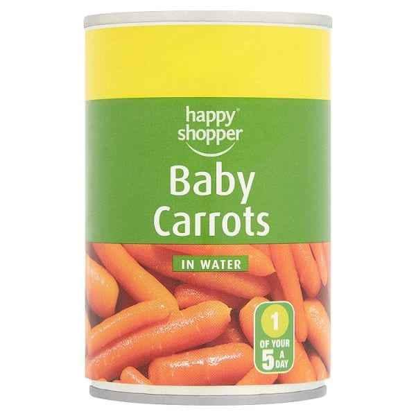 Happy Shopper Baby Carrots in Water