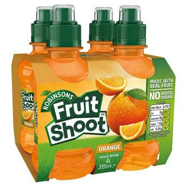 Fruit Shoot Orange 4 Pack