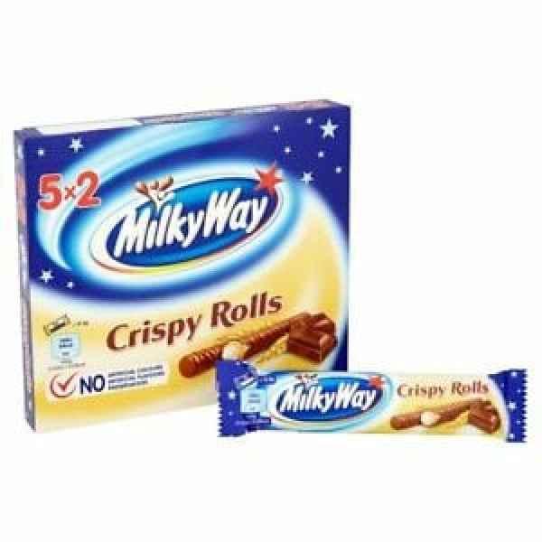 Nestle Milky Way Crispy Rolls 5 Pack