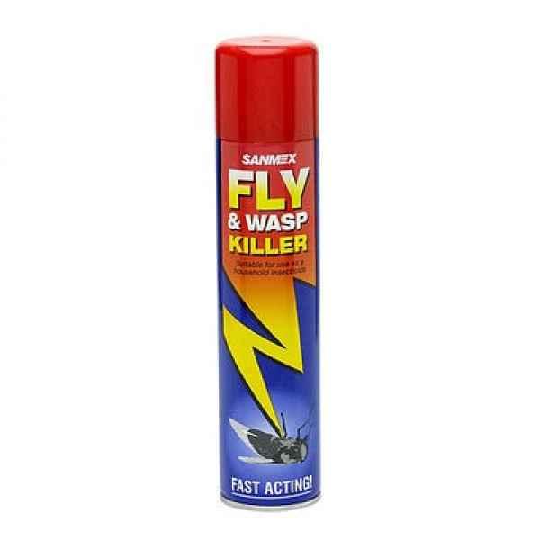 Sanmex Fly & Wasp Killer - 300ml