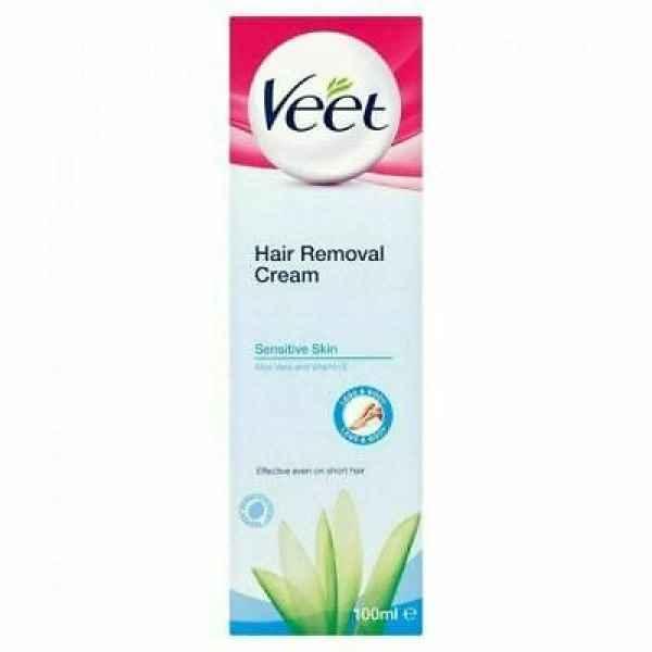 Veet Cream Hair Removal Sensitive Skin