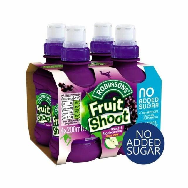 Fruit Shoot Apple & Blackcurrant 4 Pack