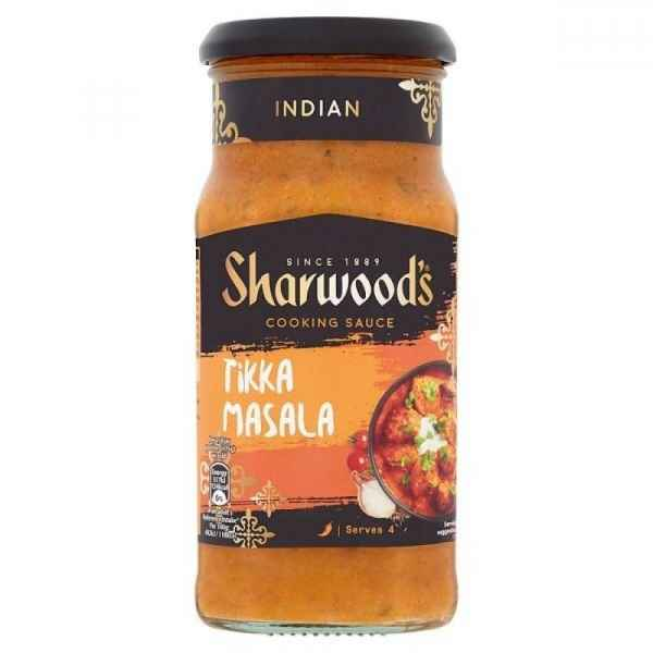 Sharwoods Tikka Masala Mild Medium Sauce 420G