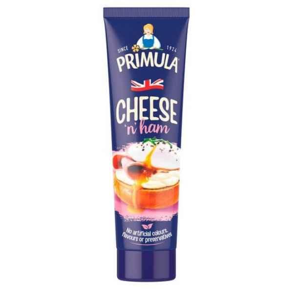 Primula Cheese Spread With Ham Tube