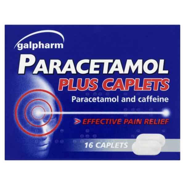 Galpharm Paracetamol Plus Caplets 500mg