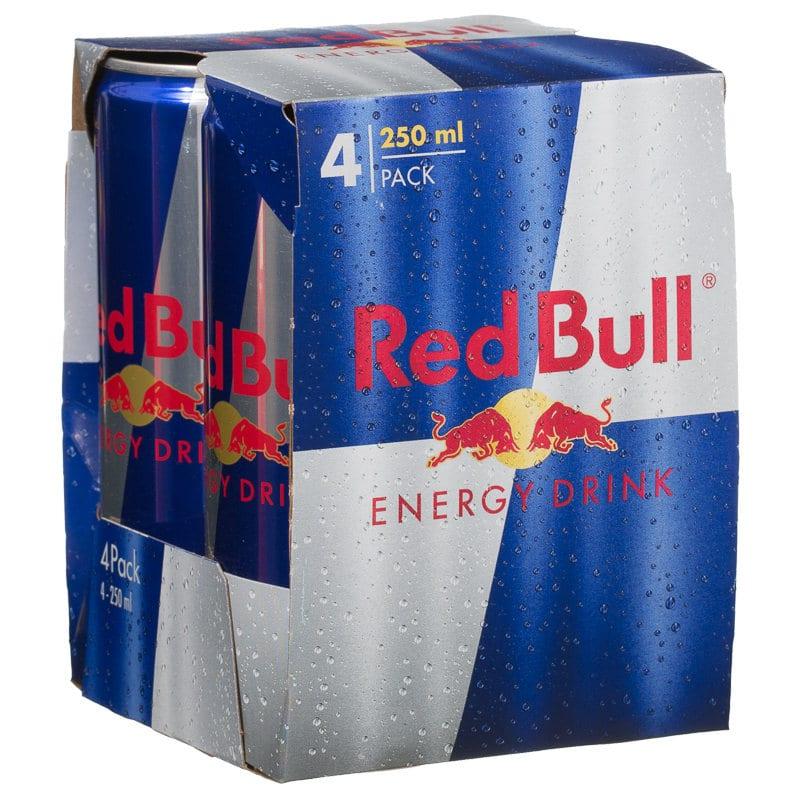 Red Bull Energy Drink 4 Pack