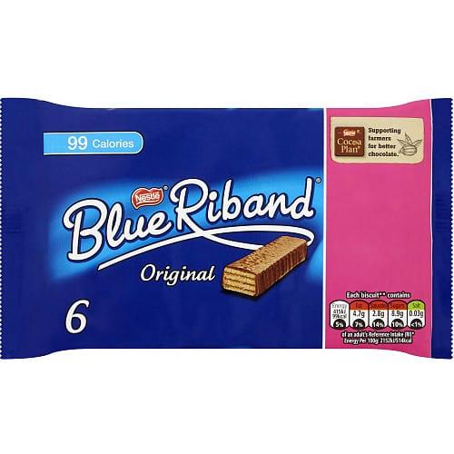 Blue Riband Original Multipack (6 for £1 x 19.3g)