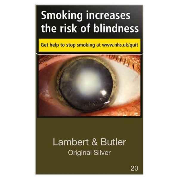 Lambert & Butler Original Silver 20