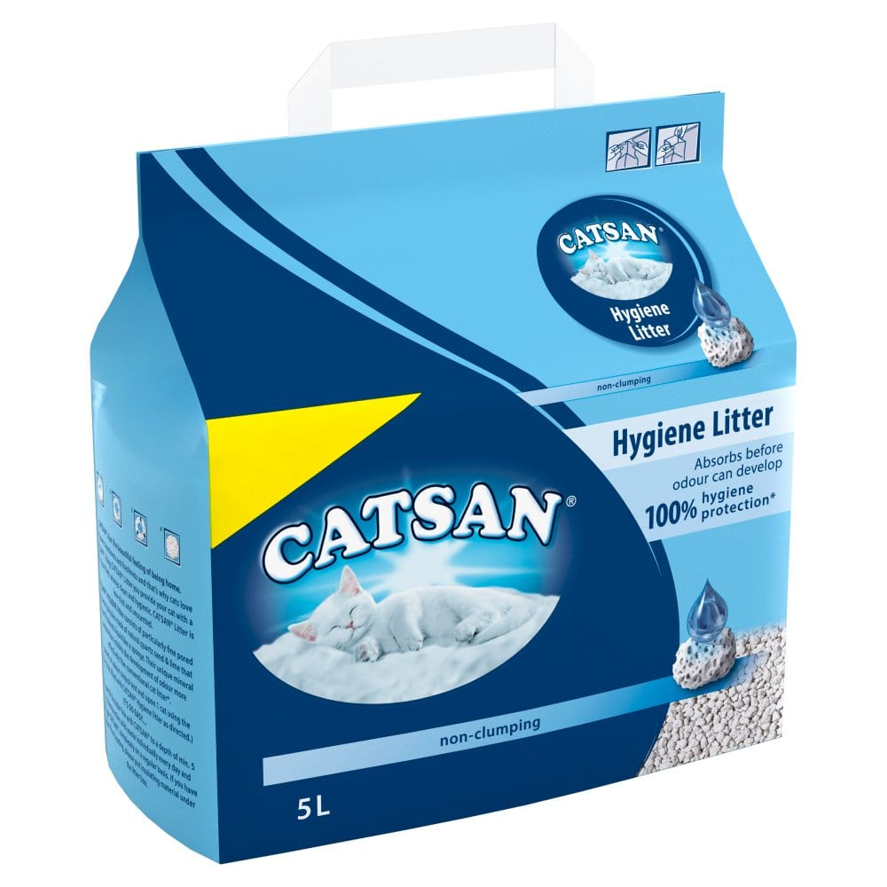 Catsan Hygiene Cat Litter Bag 5L PMP £3.99