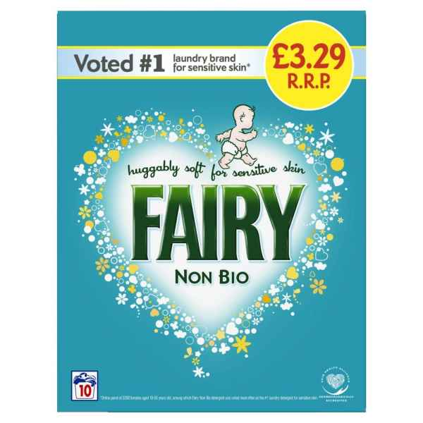 Fairy Non Bio Washing Powder 650g 10 Washes
