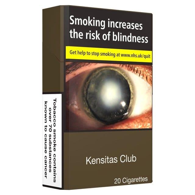 Kensitas Club Kingsize 20 Cigarettes