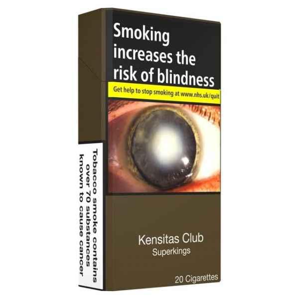 Kensitas Club Superkings 20 Cigarettes