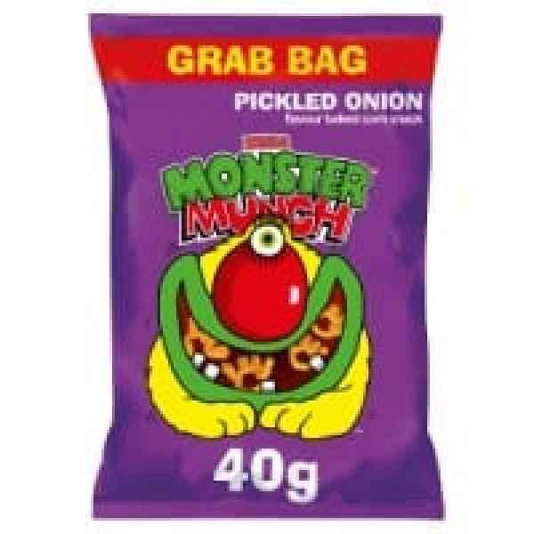 Mega Monster Munch Pickled Onion Snacks
