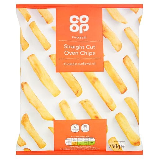 Co Op Straight Oven Chips