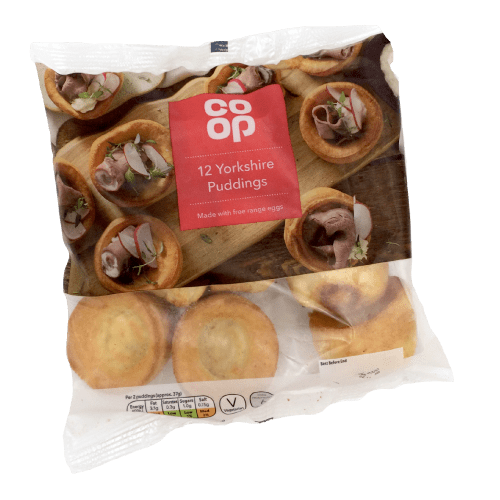 Co Op 12 Yorkshire Pudding