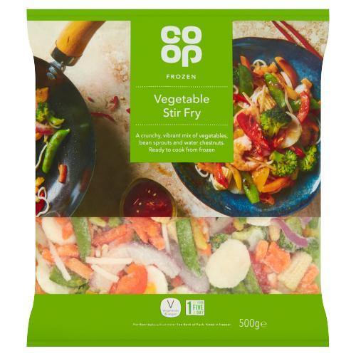 Co Op Vegetable Stir Fry