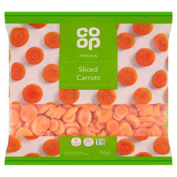 Co Op Sliced Carrots
