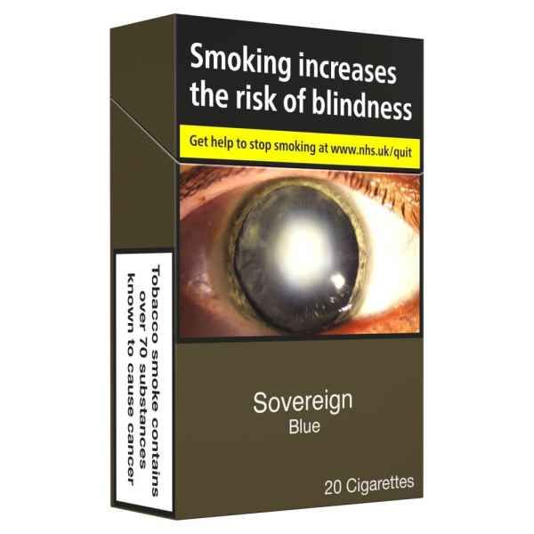 Sovereign Blue King Size 20 Cigarettes