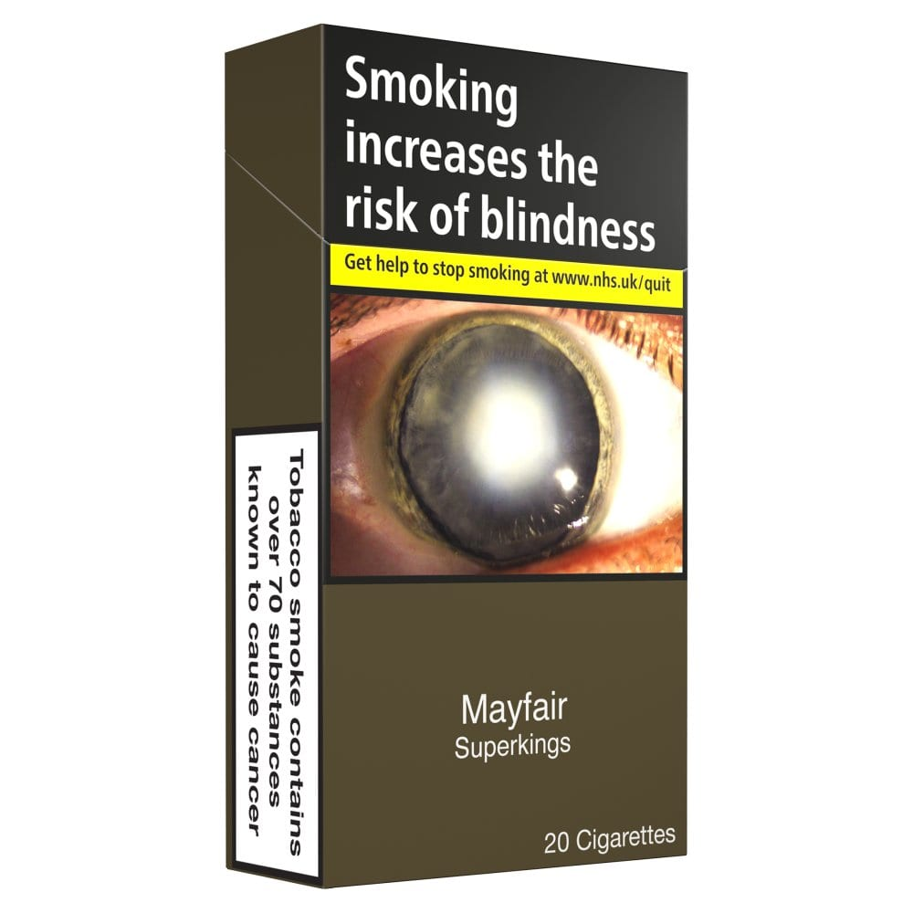 Mayfair Superkings 20 Cigarettes