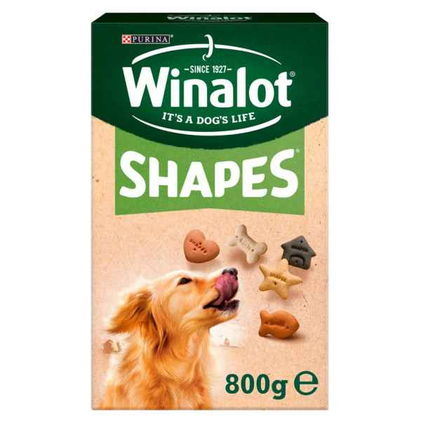 Winalot Shapes Dog Treat Biscuits 800g