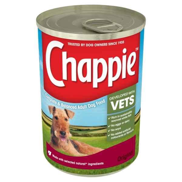 Chappie Dog Tin Original 412g