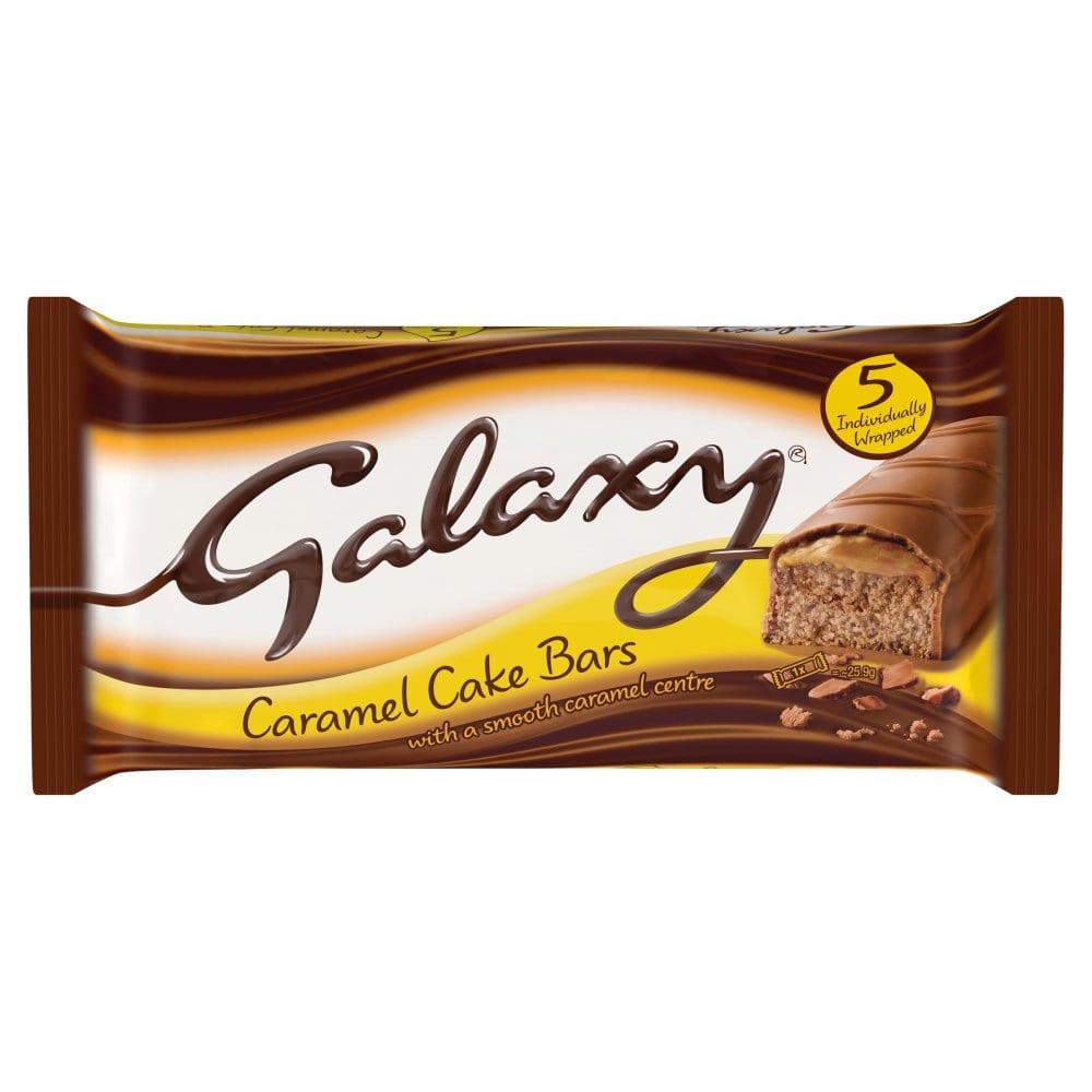 McVities Galaxy Caramel Cake 5pk