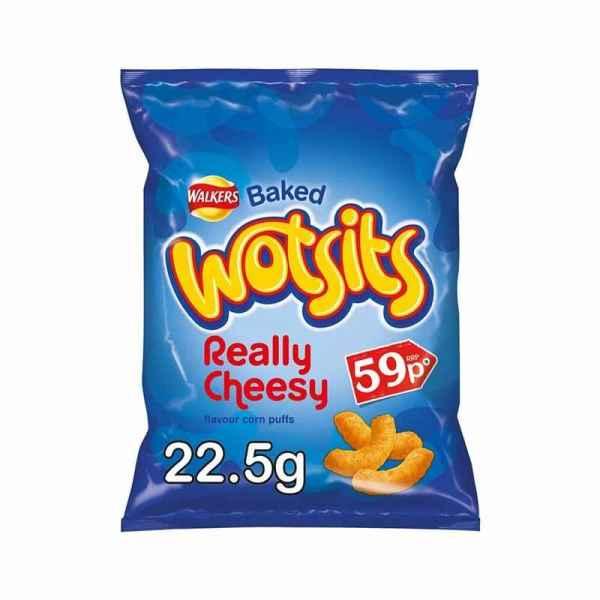 Wotsits Really Cheesy Snacks