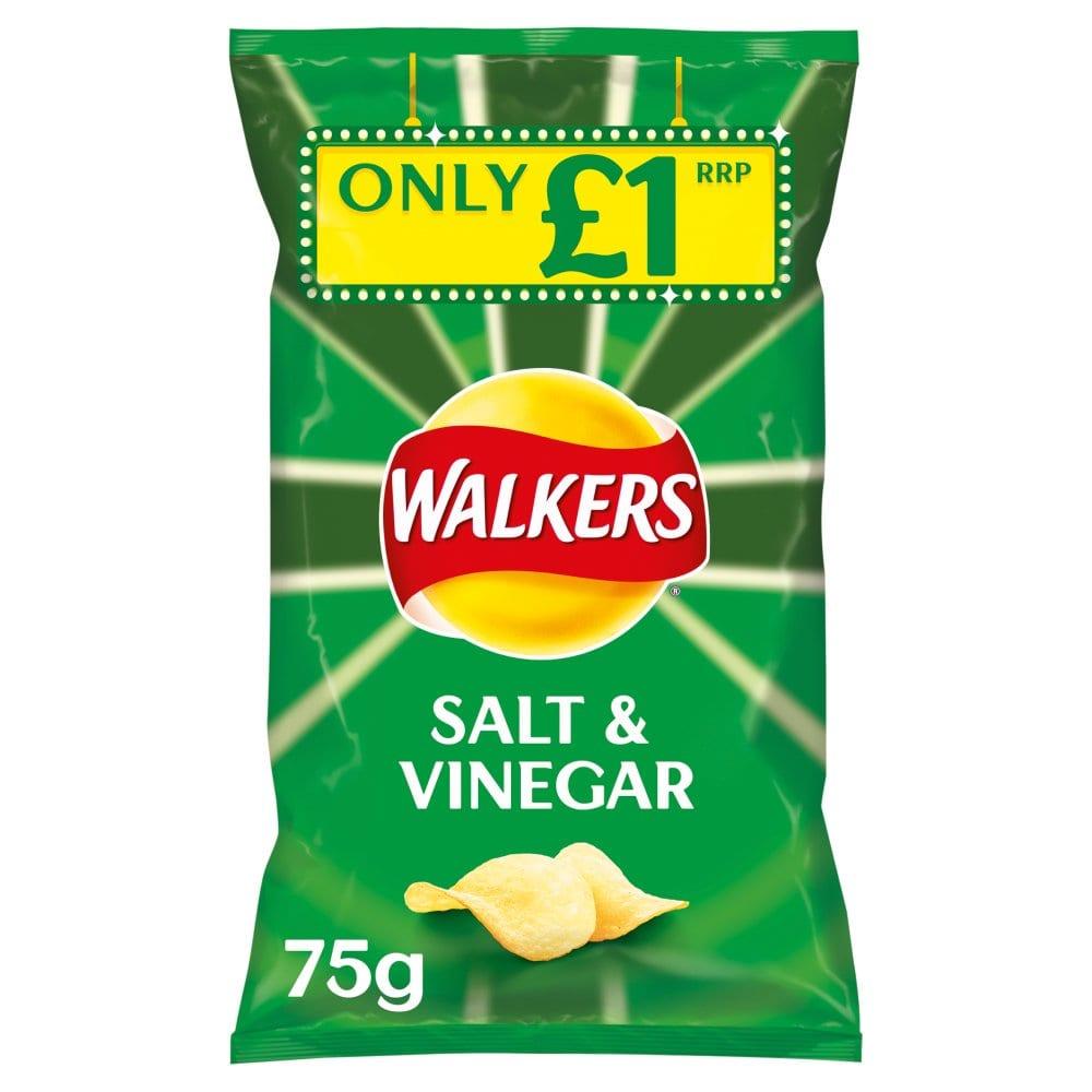 Walkers Salt & Vinegar PMP 75g