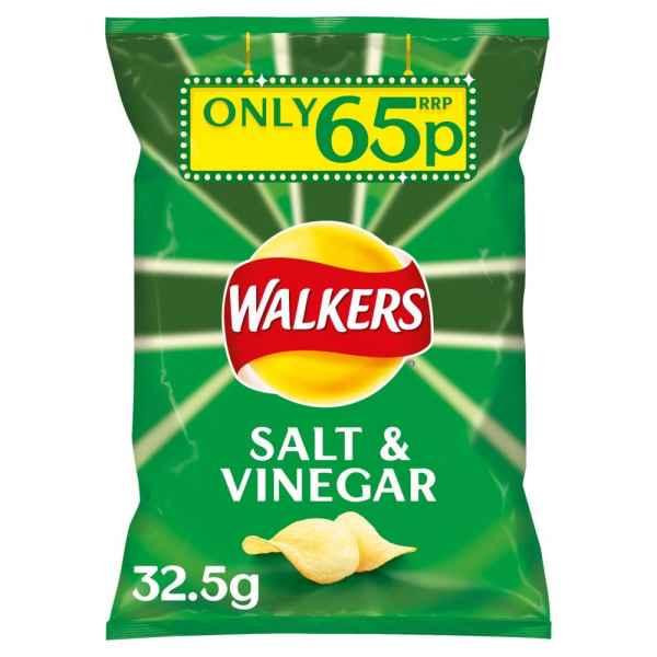 Walkers Salt & Vinegar Crisps