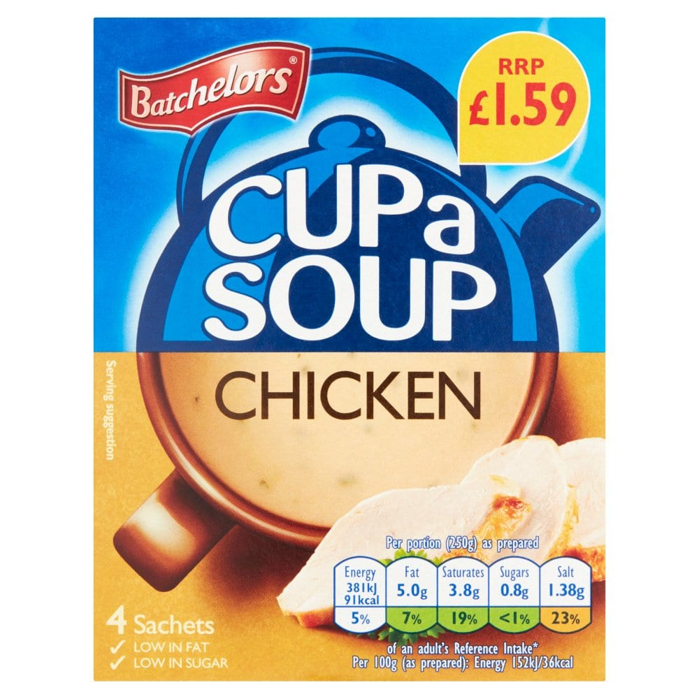 Cup a Soup Chicken 4 Sachets 81g