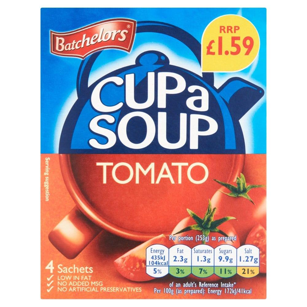 Cup a Soup Tomato 4 Sachets 93g