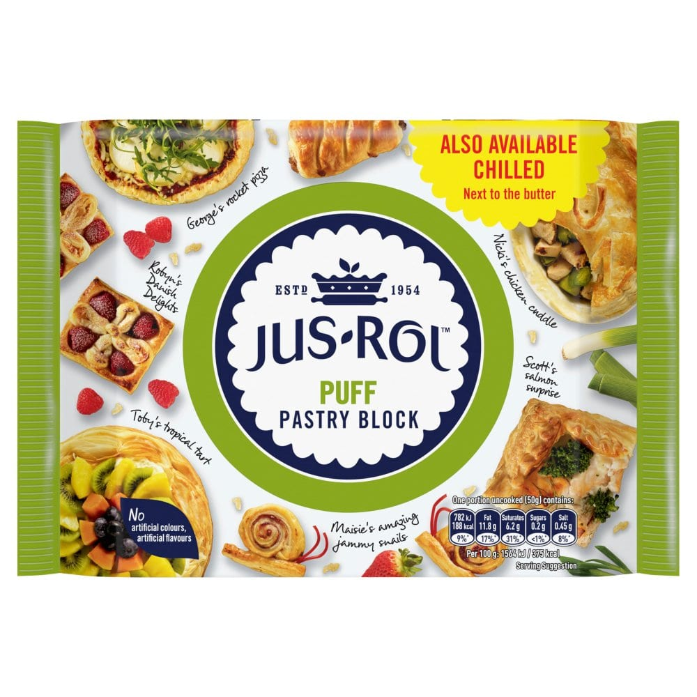 Jus-Rol Puff Pastry Block 500g