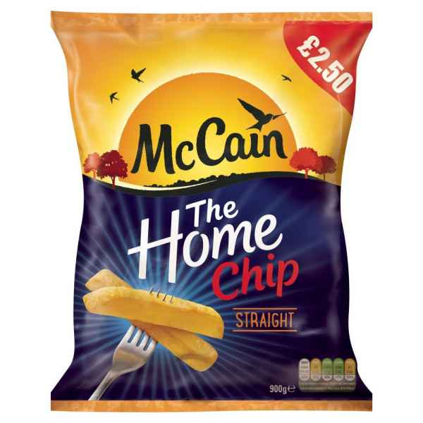 McCain The Home Chip Straight