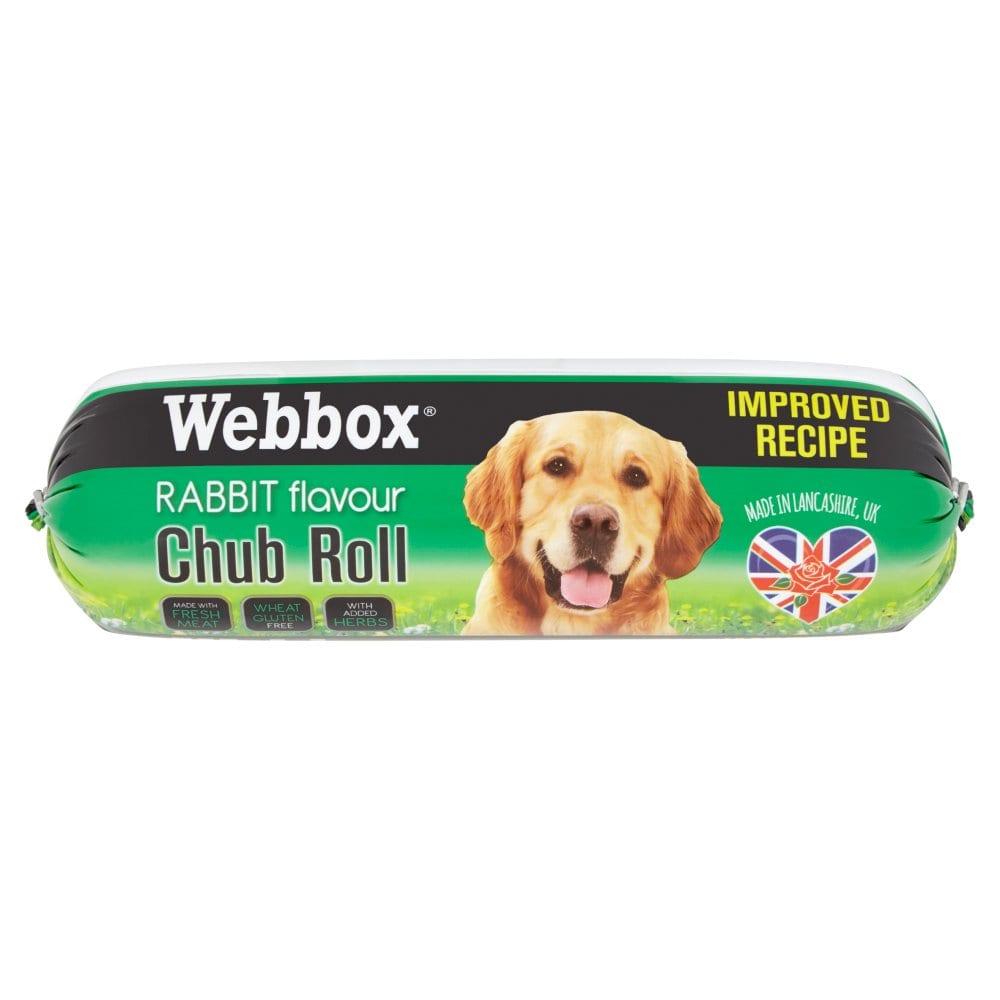 Webbox Rabbit Flavour Chub Roll 800g