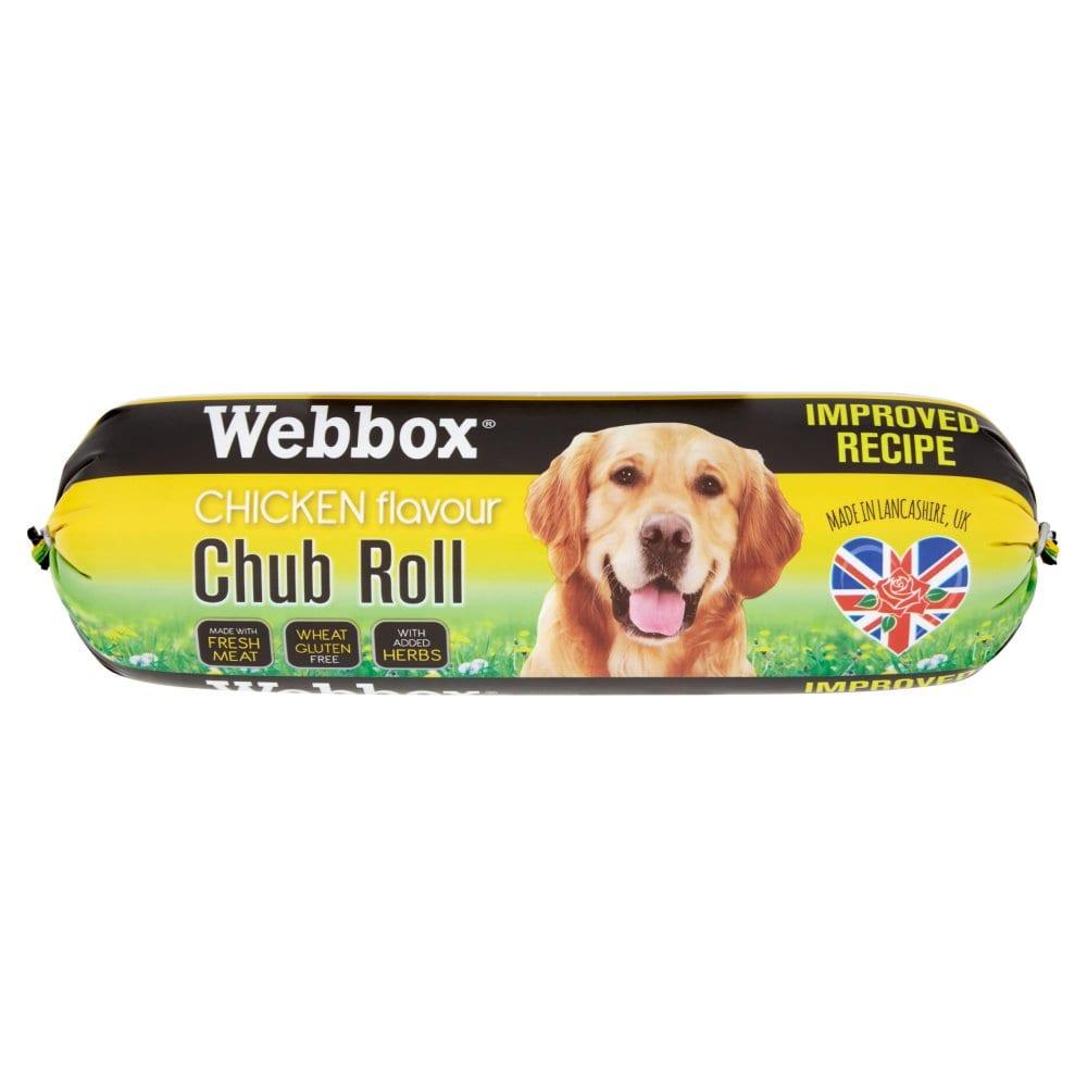 Webbox Chicken Flavour Chub Roll 800g