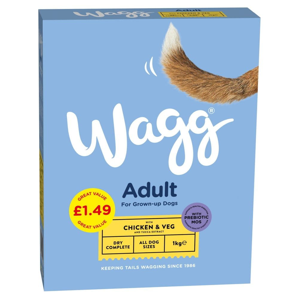 Wagg Adult with Chicken & Veg 1kg