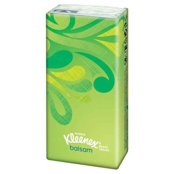 Kleenex Balsam Pocket Tissues Single Pack