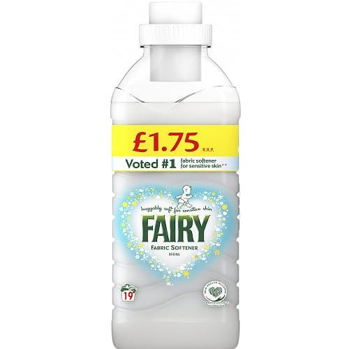Fairy Fabric Conditioner Original 665ml 19 Washes