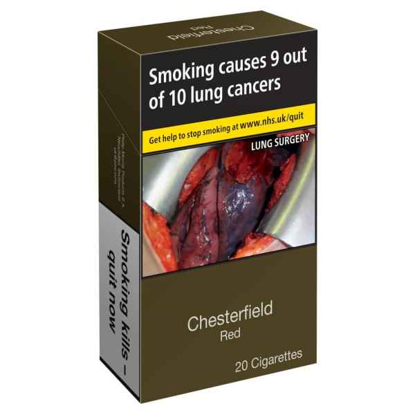 Chesterfield 20 Cigarettes Red