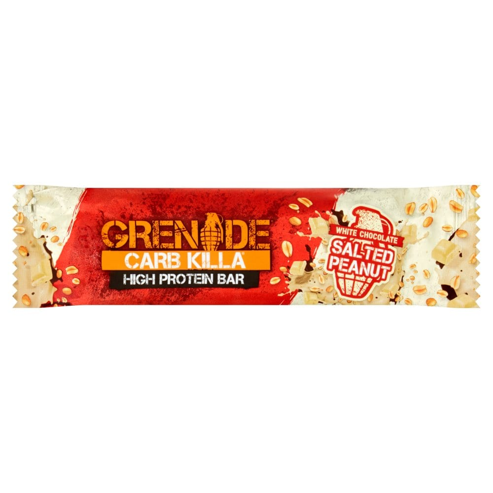 Grenade Carb Killa High Protein Bar White Chocolate Salted Peanut 30g