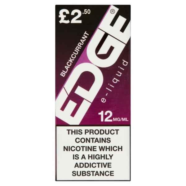 Edge Blackcurrant E-Liquid 12mg/ml 10ml