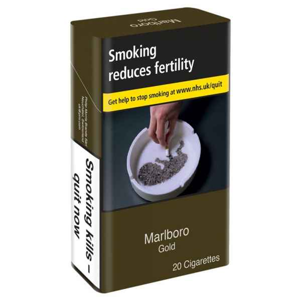 Marlboro Gold 20 Cigarettes