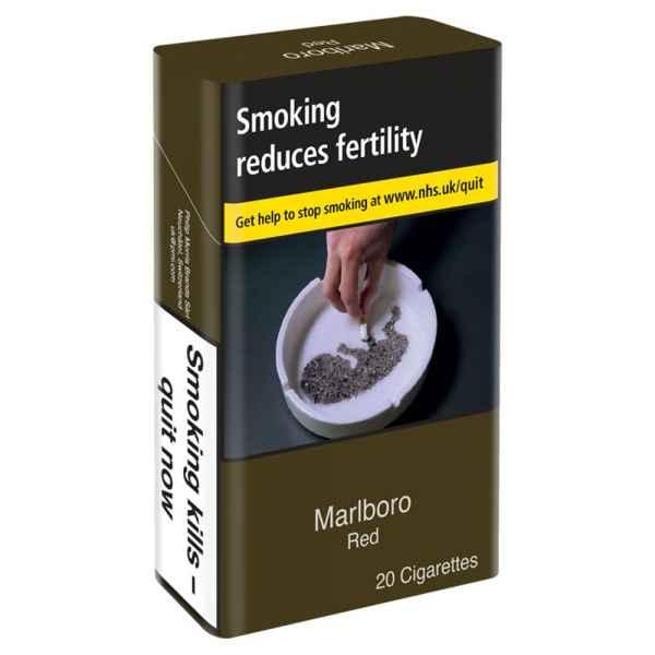 Marlboro Red 20 Cigarettes