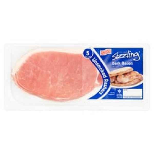 Sizziling Unsmoked Bacon