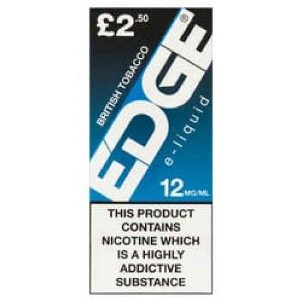 Edge British Tobacco E-Liquid 12mg/ml 10ml